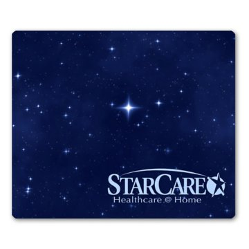 "BIC® 1/4"" Fabric Surface Rectangle Mouse Pad"