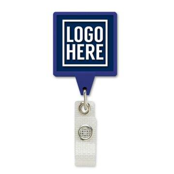 Anti-Microbial JUMBO Square Badge Reel