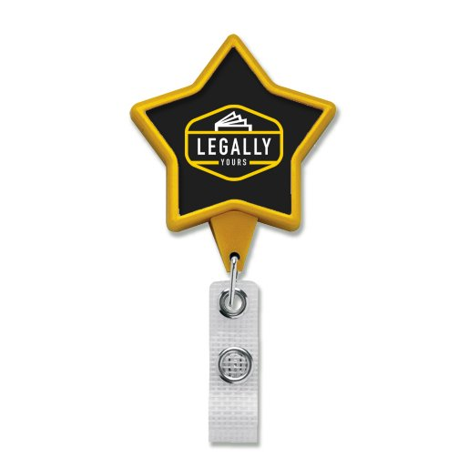 Anti-Microbial JUMBO Star Badge Reel