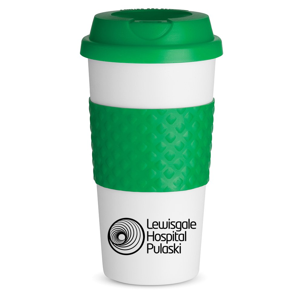 Classic To-Go Mug with Silicone Grip