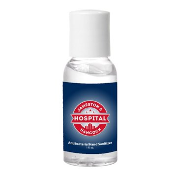1 Oz. Hand Sanitizer Easy Squeeze Bottle