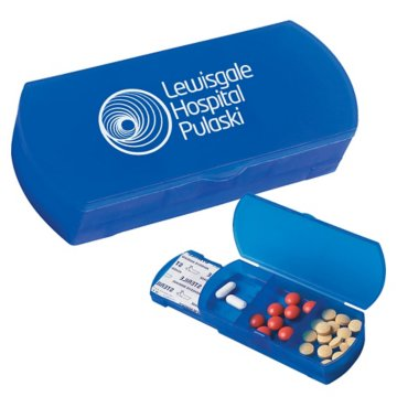 Pill Box and Bandage Dispenser Combo