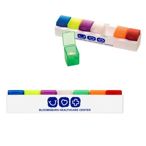 7-Day 7-Color Pill Box
