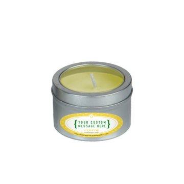 Aromatherapy Candle in Small Window Tin