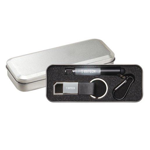 The Panda - Stylus Pen and Keychain Gift Set