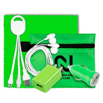 Smartphone Home and Auto Charging Kit