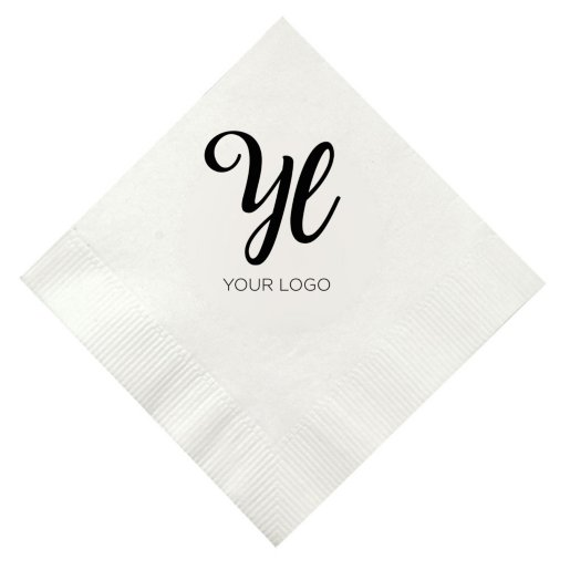 Beverage Party Napkin - White