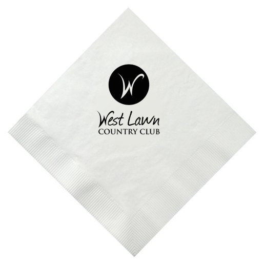 Dinner Party Napkin - White