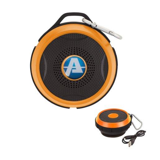 Color Accent Rings Waterproof Wireless Speaker