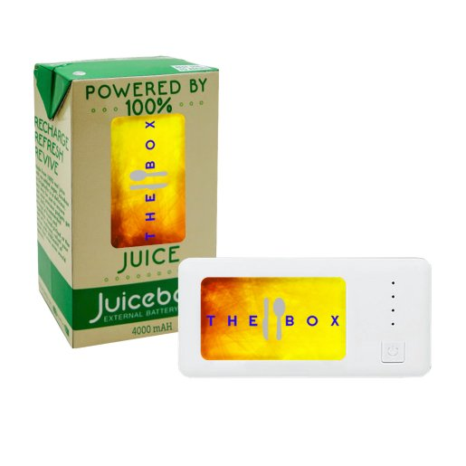 UL Listed 4400 mAh Logo Lit Power Bank
