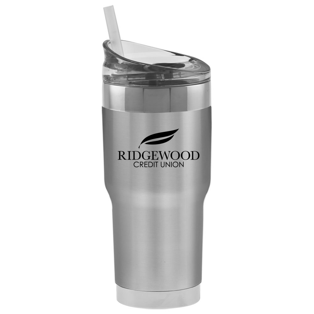 Alloy Accent Travel Mug