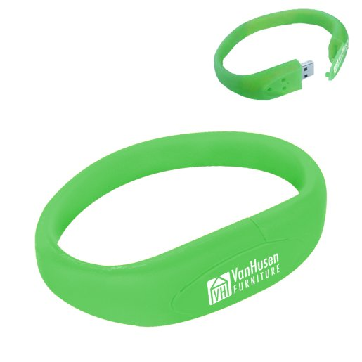 2GB USB Flash Drive Bracelet