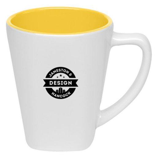 Color Explosion Square Mug