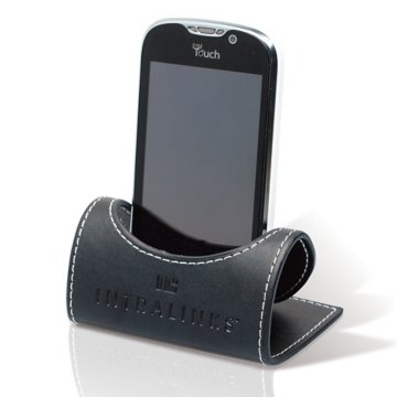 Leatherette Desktop Cell Phone Holder