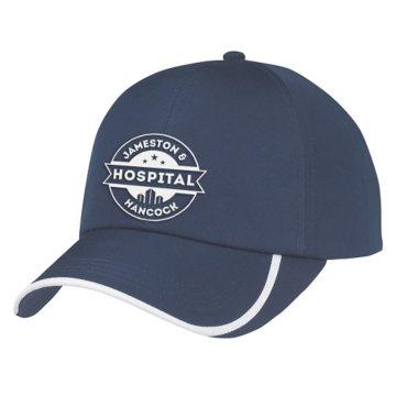 2 Tone Curve Baseball Cap
