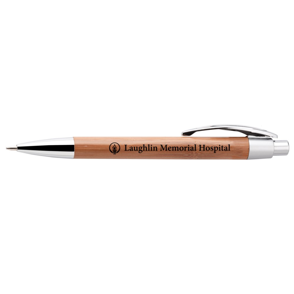 Bamboo Silver Trim ECO Pen