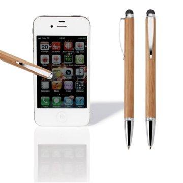 Eco-Friendly Bamboo Mini Stylus Pen