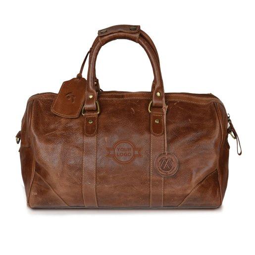 Westbridge Leather Duffle Bag