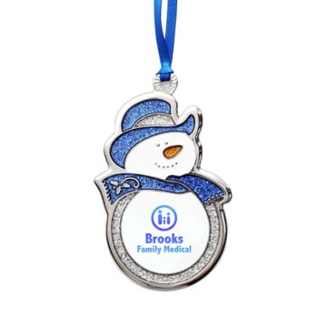 Charming Character Glitter Ornament