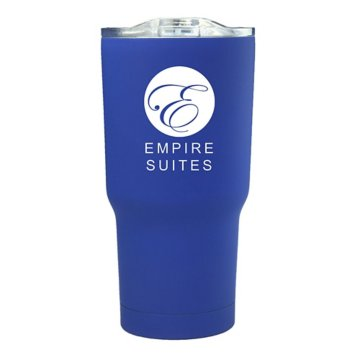17oz Smooth Move Rubberized Travel Mug