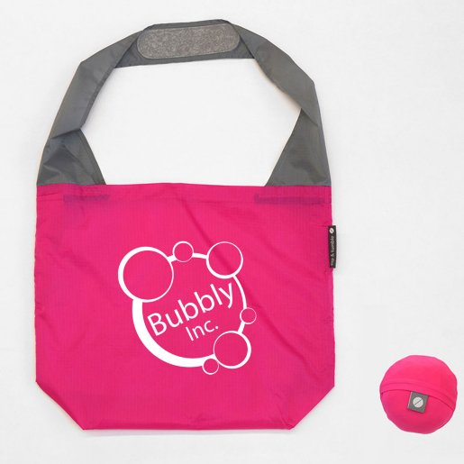 Flip and Tumble® Stash-Away Reusable Tote Bag