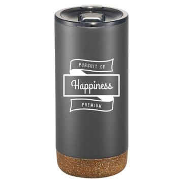 16 oz Copper Insulated Matte Travel Tumbler