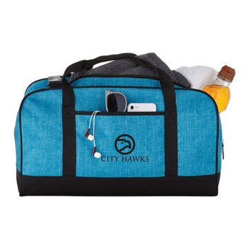 "Easy Travel Heathered 18"" Duffel Bag"