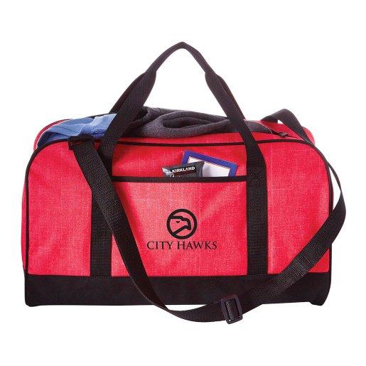 "Easy Travel Heathered 18"" Duffel Bag"