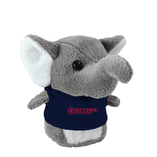 Shorties Desktop Elephant Stuffed Animal