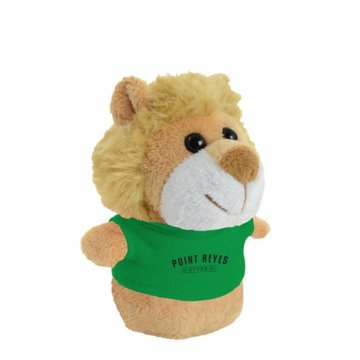 Shorties Desktop Lion Stuffed Animal