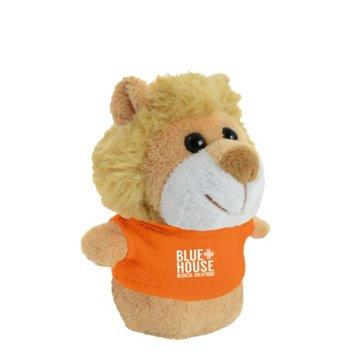 Shorties Desktop Lion Stuffed Animal