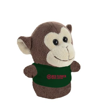 Shorties Desktop Monkey Stuffed Animal