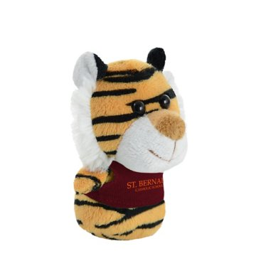 Shorties Desktop Tiger Stuffed Animal