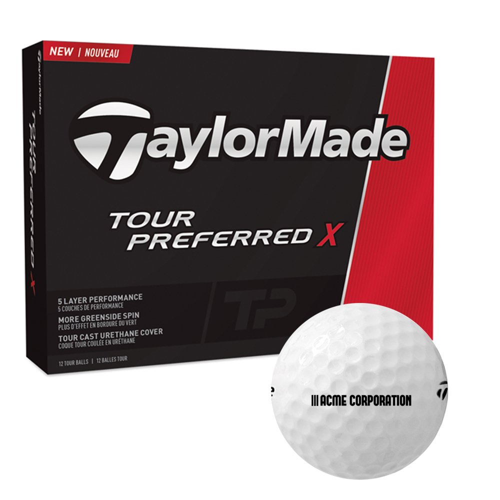 TAYLORMADE® TOUR PREFERRED X STD SERV