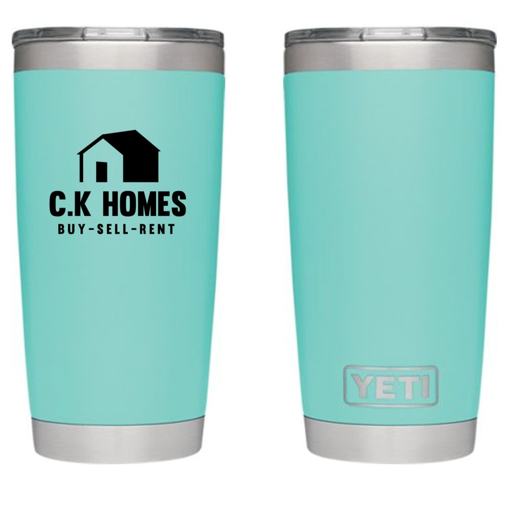 Customized Yeti - 20 oz Rambler Tumbler