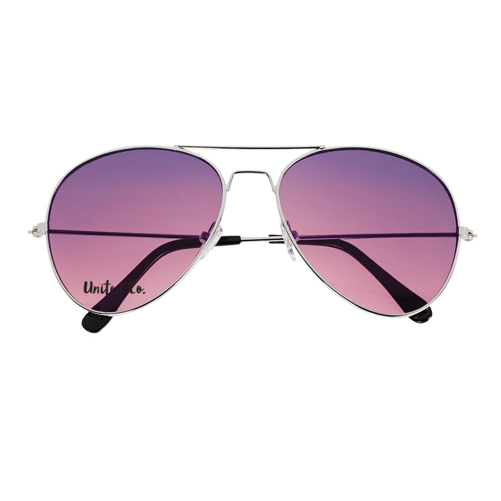 Gradient Aviator Sunglasses