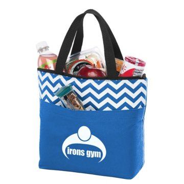 Chevron Lunch Tote