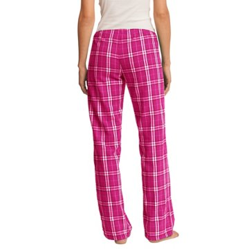 Womens Flannel Plaid Pant
