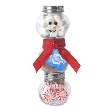 Snowman Gift in a Jar