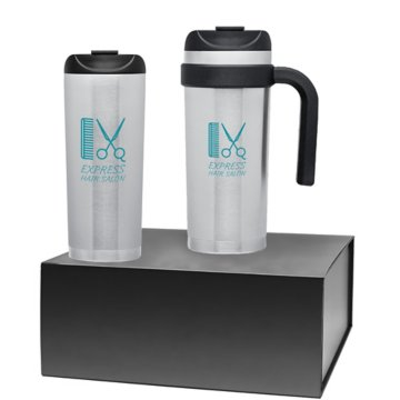 Classic Travel Mug Gift Set