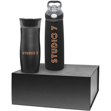 Stainless Steel Contigo West Loop  & Addison Gift Set