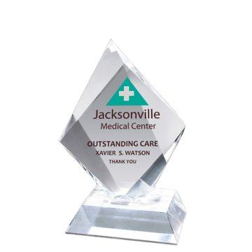 Prismatic Diamond Acrylic Award