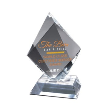 Prismatic Diamond Acrylic Award