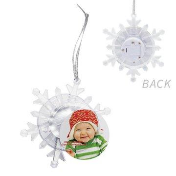 Glowing Snowflake Ornament