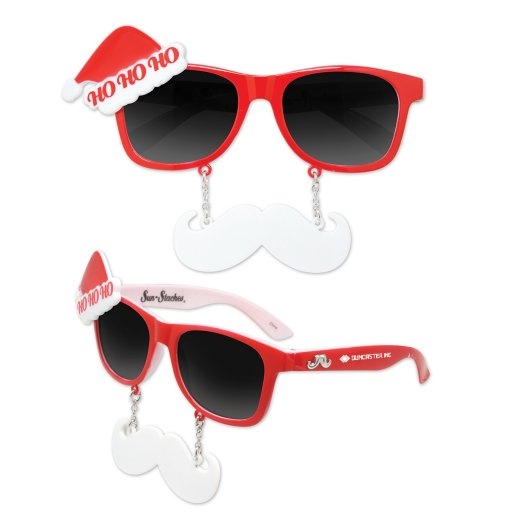 Santa Sun-Stache®  Glasses
