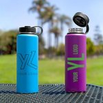 Powder Coated Thermal Water Bottle
