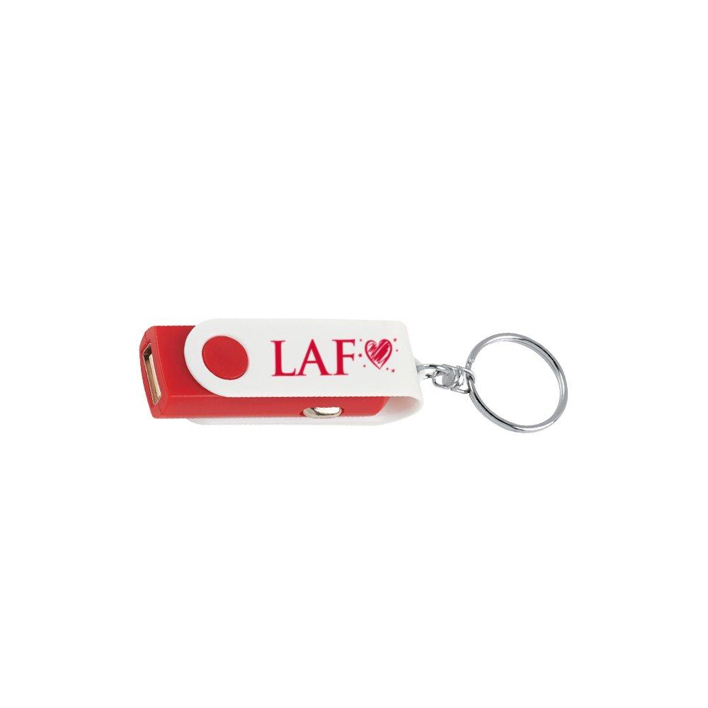 USB Car Charger Keychain