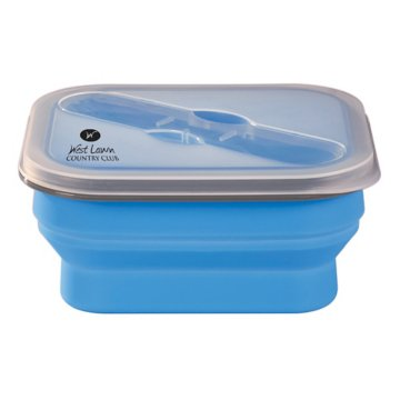 Silicone Food Container & Utensil Set